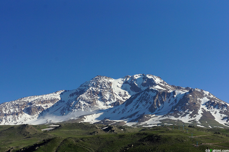 کوه سبلان مشگن شهر